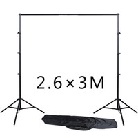 Wholesale 3m Photo Backdrop - Photography Equipment 2.6*3M 8.5ft*10ft Photo Backdrops Background Support System Stands studio with carry bag