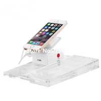 Wholesale Mobile Security Stand - Wholesale- 10pcs lot Mobile security display stand for cell phone with price tag base