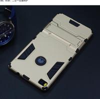 телефоны samsung china оптовых-Китай Оптовая сотовый телефон Case Железный Человек броня Case с подставкой для Huawei P8 P9 Mate8 крышка мобильного телефона