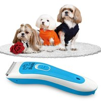 Professional Pet Dog Hair Trimmer Grooming Clipper Animal Hair Remover Cutter Comb Kits RCS47B-H58P H211046