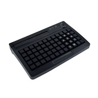 usb küçük klavye toptan satış-Elektronik kilit ile KB60 USB programlanabilir klavye PS2 Manyetik kart okuyucu ile İsteğe Bağlı Küçük Klavye