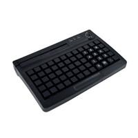 pequenos bloqueios eletrônicos venda por atacado-Teclado KB60 USB programável com bloqueio eletrônico Teclado PS2 Opcional pequeno com leitor de cartão magnético