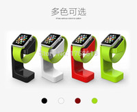 Wholesale Latest Product Apple Watch Stand iWatch Stand Bracket Docking Station Charger Holder for Both mm and mm
