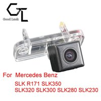 Wholesale Auto Reverse Monitor - For Mercedes Benz SLK R171 SLK350 SLK320 SLK300 SLK280 SLK230 Wireless Car Auto Reverse Backup CCD HD Rear View Camera