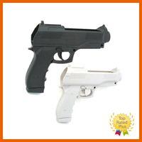 Wholesale Pistol Gun Games - 2 Pcs Pistol Shooting Light Gun Sport Video For Nintendo Wii Remote Controller Game Without Remote & Nunchuck