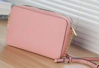 розовые женские сумочки оптовых-дизайнер сумки 2018 новый средний Роза красный хаки женщин мода кожа pu сумки на ремне сумка креста тела
