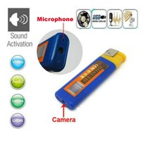 Wholesale Lighters Hidden Camera - 5pcs lot 720P Portable Spy Hidden Mini Spy Gadget Video Audio Recorder Mini DV DVR Mini Lighter Camera Security Surveillance Camcorder DVR