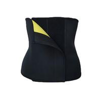 Wholesale Waist Cinchers Sale - Hot Sale Plus Size Black Neoprene Thermal Waist Cincher Belt Postpartum Tummy Trimmer Shaper Slimming Waist Shaper Hot Shaper Waist Trainer