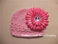 Wholesale Stocking Hats For Babies - ! Crochet hats, Crochet baby beanies, Summer hats, 5 colors in stock for your choice Hats & Caps