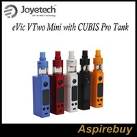 Joyetech eVic VTwo Mini с комплектом CUBIS Pro Tank Kit 75W eVic VTwo Mini Box Mod с 4ML Cubis Pro Atomizer QCS и LVC Head Preinstall Original