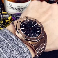 Wholesale Classic Watches For Men - New AAA Luxury Watch For Men Fashion Classic Style 42mm Stainless Steel Strap High Quality Automatic Movement Wristwatches Sapphire 15400ST