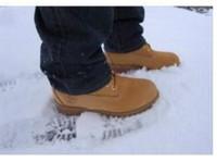 inç yürüyüş toptan satış-Moda Erkek 6 Kuşgözü 6-Inch Premium Ayak Bileği Çizmeler Açık Çalışma Yürüyüş Ayakkabıları Kış Kar Botları Erkekler için Çok Renkler