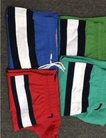 Wholesale Mens Summer Swim Shorts - Mens Polos Shorts New Brand Casual Solid Color Board Shorts Men Summer style bermuda masculina Swimming Shorts Men Sports Short