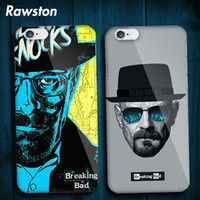 Wholesale Cover Iphone Movie - Breaking Bad Heisenberg Hard Cover Case for iPhone 5 5s SE 6 6s 7 8 Plus Movie Character Cases for iPhon capinhas capa