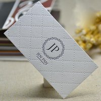 Wholesale textured paper for sale - Group buy textured business card name card visit display cards custom special paper High quality Best price