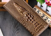 New Arrived 2015 Women Leather Walle Fashion 3D Alligator Brand Design Casual Lady Purse Femmes embrayage portefeuilles pour femmes ZM00466
