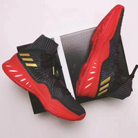 Wholesale fabric wall lights - 2018 Authentic Crazy Explosive Boost Basketball Shoes Wiggins John J Wall 3 for Top quality Sports Training Sneakers Size 7-12 with box
