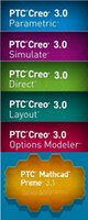 PTC Creo 3.0 M110 + HelpCenter completa multilenguaje de Windows 32/64 bits