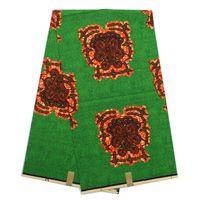 Wholesale Super Wax Hollandais - Latest Arrive Attractive Model African Hollandais Wax Fabrics Free Shipping!Guaranteed Quality! ,Hollandais Super Wax Fabric 6Yds Lot Q1029
