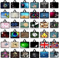 "Wholesale Neoprene Laptop Sleeves Handles - Universal 16"" Soft Laptop Sleeve Case Bag Cover+Hide Handle For 16"" Dell Alienware M16x,16"" Sony VAIO CW CS"