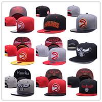Wholesale Atlanta Caps - Hot Selling new Men's Women's Basketball Snapback Baseball Snapbacks Atlanta Football Hats Man Sports Hat Flat Hip Hop Caps Thousands Styles