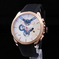 Wholesale Mens Sub - All Sub-dials Work Mens Watches Sports Chronograph Quartz Wristwatch Luxury Watch Top Brand Silicone Strap relogies Best Gift for men 2018