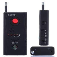 Wholesale Gsm Audio - CC308+ Hidden Spy Camera Signal RF Detector GSM Audio Bug Listening Device Finder CCTV IP Lens Laser