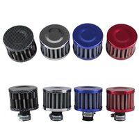 Wholesale RASTP mm Car Red Mini Air Filter Car Motor Cold Air Intake Filter Turbo Vent Crankcase Breather RS OFI003