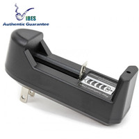 ingrosso caricabatterie-18650 Batterie Caricabatterie Single Lithium Caricabatterie Samsung 25R LG HG2 HE4 HE2 MNKE Ultrafire 26650 Batterie al litio