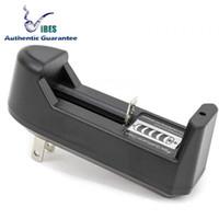 aaa bateria de 1.5v venda por atacado-Carregador de baterias de lítio de 18650 carregador único baterias de lítio de Samsung 25R LG HG2 HE4 HE2 MNKE Ultrafire 26650