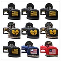 Wholesale wutang hats resale online - Cheap Fashion new wu tang snapback hat wutang baseball cap wu tang clan bone gorras