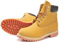 botas de tornozelo branco homens venda por atacado-Atacado-Inverno Botas de Neve Branca Marca Homens Mulheres Botas de Couro Genuíno Botas de Couro Ao Ar Livre À Prova D 'Água Lazer Ankle Boots Livre Sh