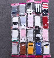 Wholesale Antislip Flooring - Baby socks 2016 fox antislip rubber room floor socks Korean girls boys cartoon half knee Cute Clouds bear ears Leg Warm Kawaii Sock Fall