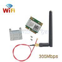Wholesale Ghz Wireless Pci - Wholesale- DHL Wholesale 20pcs lot WiFi Link 5100 Half Size Wireless MINI PCI E Card 512AN_MMW 802.11a b g n 2.4 GHz and 5.0 GHz 300 Mbps