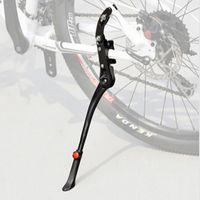 Wholesale Cycling Bike Side Kickstand - Wholesale-2016 Bike Bicycle 24'-29''Adjustable Side Stick Stand Bike Accessories Cycling Side Replacement Kickstand Kick Stand Black