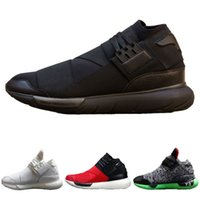 Wholesale Hight Heels Boots - New Casual Shoes Y-3 QASA RACER Hight SnEakers Breathable Men Women High Shoes Couples Y3 Shoes Size Eur 36-44 High Quality