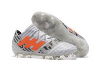 Wholesale Canada Pvc - New arrival Messi Nemeziz 17+ 360 Agility Cleats Soccer Boots Shoes Purecontrol Mens low Ankle Soccer Boot Shoes Australia & Canada Free DHL