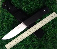 """Wholesale Air Tools Free Shipping - Free shipping high quality Swedish hunting knife F1 Air Force pilot survival knife VG10 blade 8.27 """"outdoor straight knives camping tools"""
