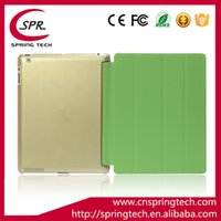 Wholesale Cheapest Folding Stock - cheapest ipad air leather case in stock golden color support ipad air 2 3 4 case Folding Folio Case Business ipad Protective Shell