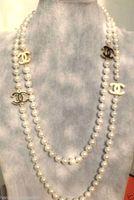ingrosso belle perle-2016 caldo acquistare perla giada braccialetto anello collana pendente dell'orecchino NUOVO Superiore lunga bella 8mm bianco perla collana di perle 68