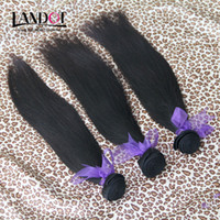 Wholesale Life Hair - Grade 10A Brazilian Straight Hair 3 4 Bundles Unprocessed Peruvian Indian Malaysian Cambodian Human Hair Weaves UP 2 Years Life Can Bleach