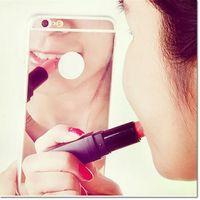 espejos cromados universales al por mayor-Para samsung s10 note 8 note 9 Soft TPU Phone Case Mirror Galvanoplastia Chrome Cellphone Case para samsung s5 s6 s7 edge DHL