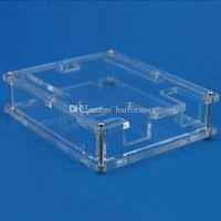 Wholesale Arduino Uno Case - Transparent Box Case Shell for Arduino UNO R3 not Raspberry pi model b plus B00310 OSTH