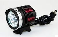 Wholesale cree xml2 - 5000-Lumen 3L2 LED High Power Bicycle bike Light kit With 3*Cree XM-L2 XML2 4-Mode,LED Headlight,Free shipping