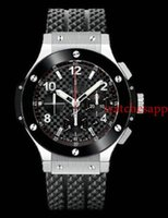 Wholesale Rubber Strap Wristwatch - All Subdials Work watch highest quality Men watches Rubber Strap Automatic Mechanical Movement Casual Sport Wristwatches For men AAA rolejes