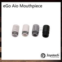 pointes d'égouttement rouge vert achat en gros de-Joyetech Embouchure spirale eGo AIO Dripip pour pointes eGo AIO Driptip de test pour kit eGo Aio 100% original