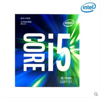Intel processore CPU 7Gen Core I5 ​​processore 14nm LGA1151 7500 4 core 4 thread 6MB Cache Dual Channel DDR4 2133/2400