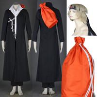 Wholesale gakuen cosplay online - Naruto Uzumaki Naruto Konoha Gakuen Den Full Set Cosplay Costume Suits Unisex For Halloween