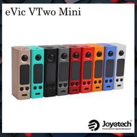 Wholesale Wholesale Mini Clocks - Joyetech eVic VTwo Mini 75W VW TC Mod a Upgrading Version of eVic-VTC Mini Mod Supports RTC (Real Time Clock) Display 100% Original