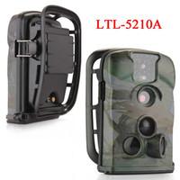 câmeras de bolota venda por atacado-Ltl bolota 5210A 12MP 940nm infravermelho caça scouting câmera caça câmera animais vida selvagem câmera frete grátis